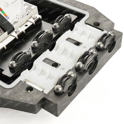 Fibre Management Inline Enclosure PP03 Close Up