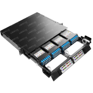 1U MTP LGX 4 Cassette patch panel