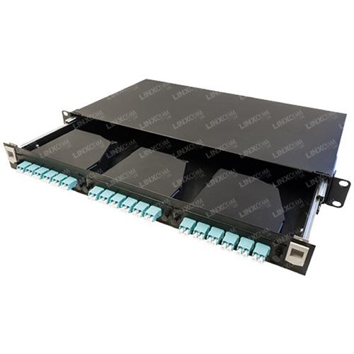 1U MTP LGX Sliding Patch Panel