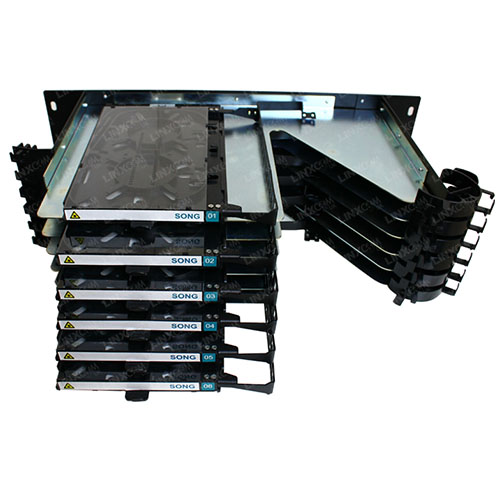 3U FO Sliding Cassette Panel