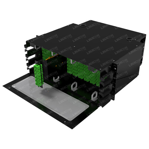 4U High Density Splicing Panel Side