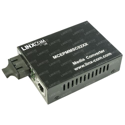 Dual Fibre to RJ45 Media Converter