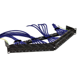 Quicklink UTP CAT6A Modular 24 Port Patch Panel
