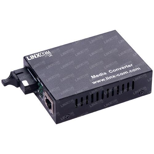 Single Fibre to RJ45 Media Converter
