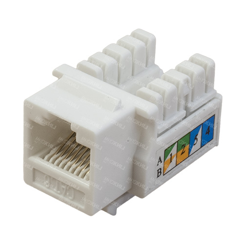 UTP CAT6 Keystone Jacks 90