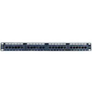 "1U 19"" 24 Port Cat5e RJ45 Patch Panel"