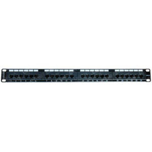 "1U 19"" 24 Port Cat6 RJ45 Patch Panel"