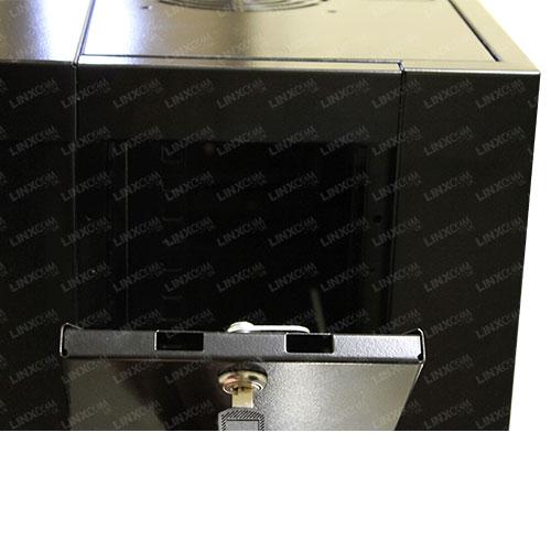 """4U 19"""" 570x450mm Wall Mounted Cabinet Model E Open"""