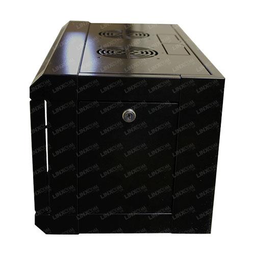 "4U 19"" 570x450mm Wall Mounted Cabinet Model E Side"