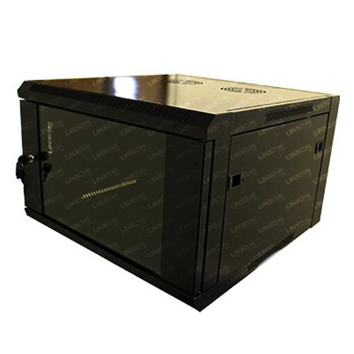 "6U 19"" 570x600mm Double Door Wall Mounted Cabinet Model E"