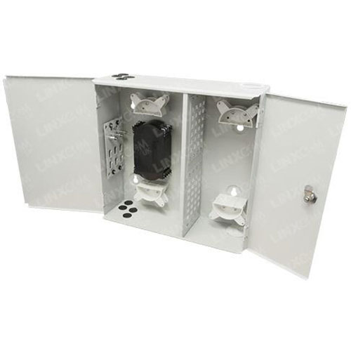 Outdoor Double Door Wall Box Open