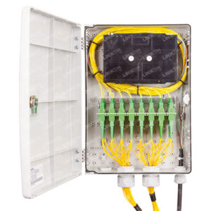 Post Mounted Outdoor Fibre Distribution Box 3