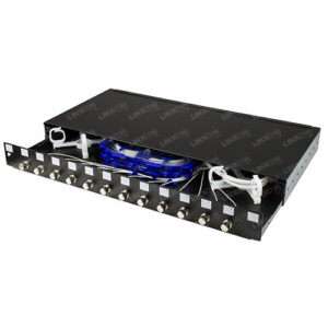 1U Loaded Sliding Patch Panel - FC/ST