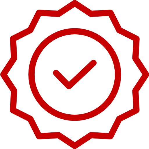 linxcom quality and certificates icon